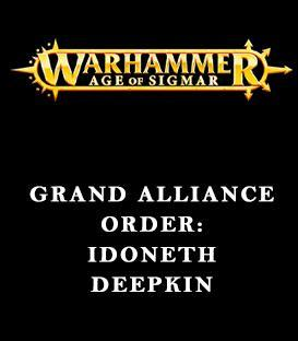 Grand Alliance Order: Idoneth Deepkin