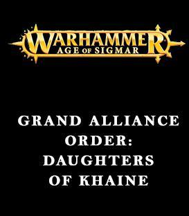 Grand Alliance Order: Daughters of Khaine