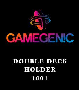 Gamegenic: Double Deck Holder 160+