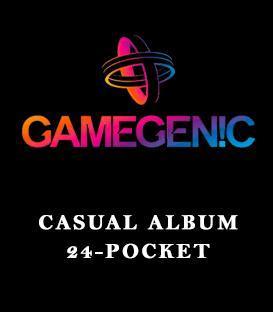 Gamegenic: Casual Album 24-Pocket
