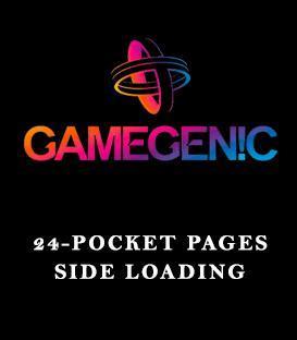 Gamegenic: 24-Pocket Pages Side Loading