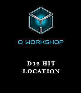 D12 Hit Location